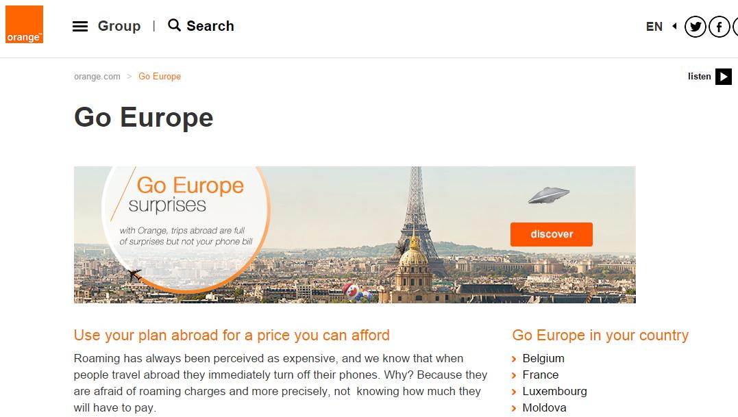 orange go europe