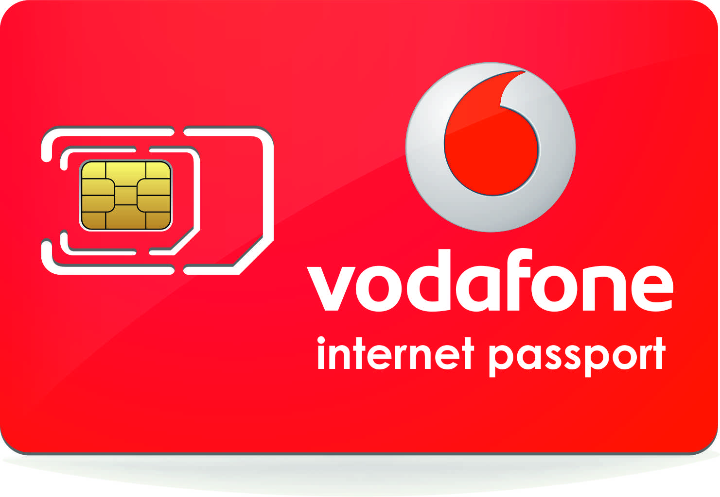 vodafone internet passport